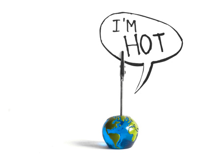 the world is hot stock photo, the world is hot by sielemann