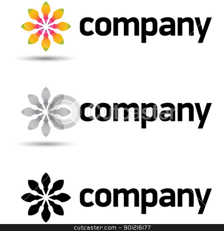 Corporate Logo Design Template stock vector clipart, Beautiful corporate logo design template for your business. just remove the word
