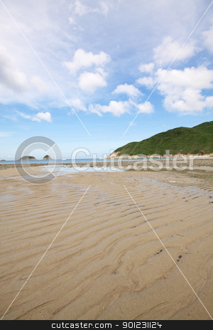 beach in Hong Kong  stock photo, beach in Hong Kong at day by Keng po Leung