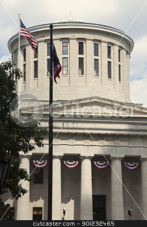 State Capitol Building in Columbus stock photo, State Capitol Building in Columbus, Ohio, USA by Henryk Sadura