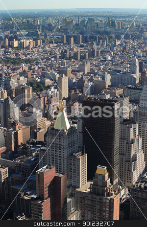 New York city stock photo, Photo of the landscape of buildings in New York city. by © Ron Sumners
