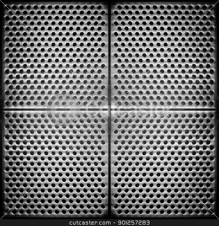Steel dotted metal background stock photo, Steel dotted metal background. High detailed this image by Imaster