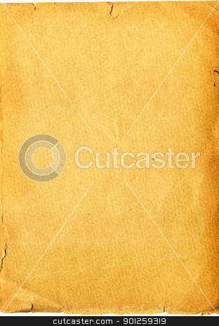 Vintage tattered paper stock photo, Vintage tattered paper. High detailed this image by Imaster