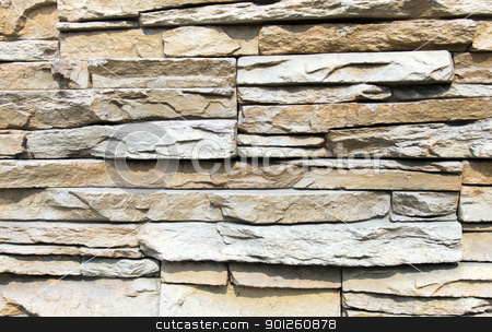 Fragment stoned wall stock photo, Fragment urban stoned wall by Imaster