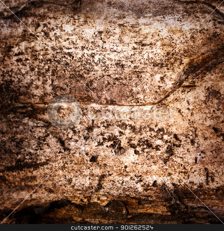 Dirty grunge abstract background stock photo, Grunge abstract background from a dirty wood trunk by Imaster