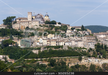 Amelia (Terni, Umbria, Italy) - The old town stock photo, Amelia (Terni, Umbria, Italy) - The old town by clodio