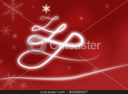 Christmas tree stock photo, Christmas tree by Lasse Kristensen@gmail.com