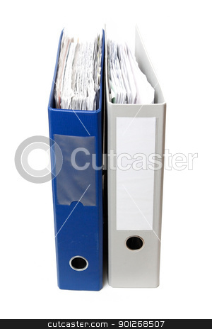 Document folders stock photo, Document folders by Lasse Kristensen@gmail.com