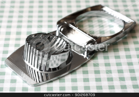 Egg slicer stock photo, Egg slicer by Lasse Kristensen@gmail.com