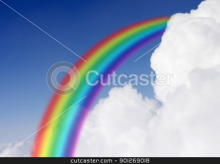 Rainbow stock photo, Rainbow by Lasse Kristensen@gmail.com