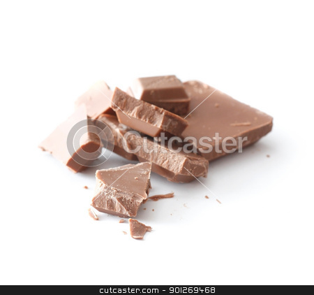 Milk chocolate stock photo, Milk chocolate by Lasse Kristensen@gmail.com