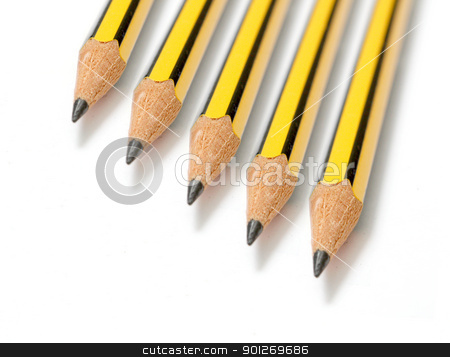 Pencils stock photo, Pencils by Lasse Kristensen@gmail.com