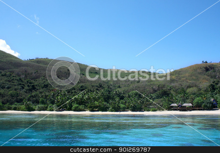Fiji beach stock photo, A beach on the beautiful islands of Fiji by Lasse Kristensen@gmail.com