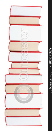 Books stock photo, Huge books in a stack by Lasse Kristensen@gmail.com