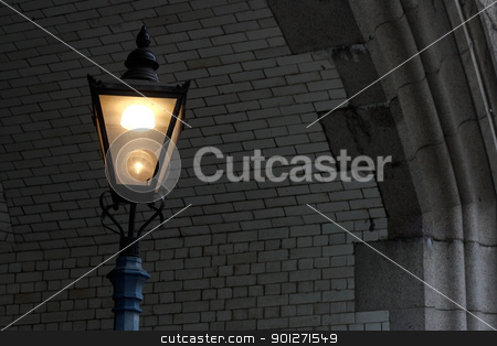 Lamp post stock photo, An old lamp post in London by Lasse Kristensen@gmail.com