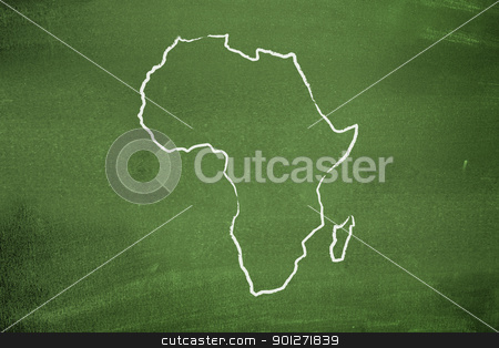 African map stock photo, African map by Lasse Kristensen@gmail.com