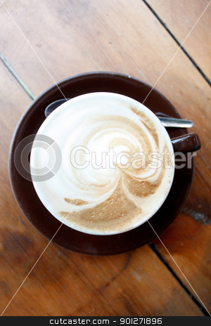 Cappuccino stock photo, A cappuccino by Lasse Kristensen@gmail.com