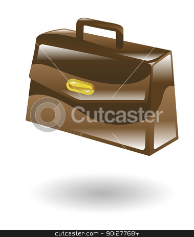 doctorscase Illustration stock vector clipart, Illustration of a doctor's briefcase by Christos Georghiou