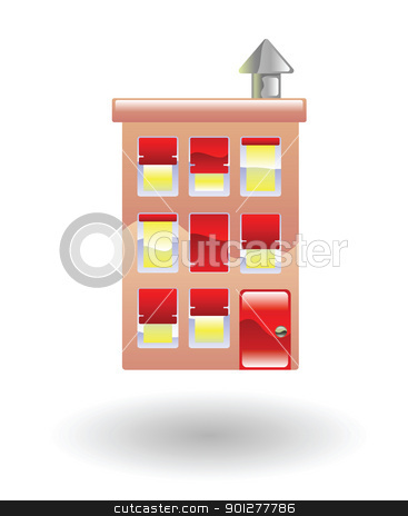 flats Illustration stock vector clipart, Illustration of flats  by Christos Georghiou