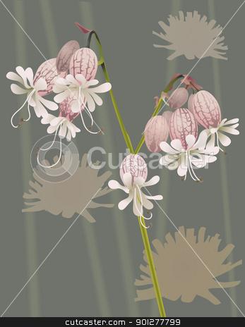 beautiful wild flower stock vector clipart, An illustration of a beautiful wild flower by Christos Georghiou