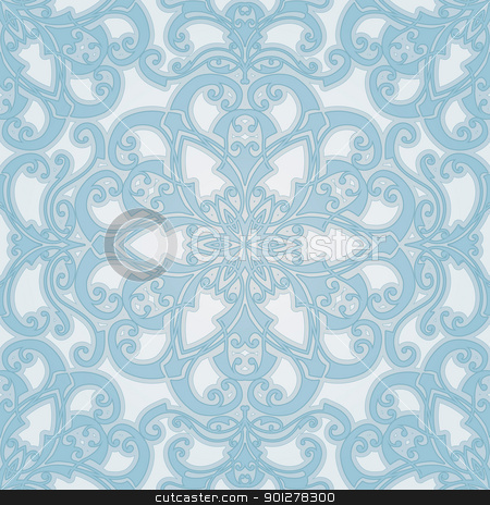 beautiful natural seamless geometric tile design  stock vector clipart, beautiful natural seamless geometric tile designed to look at its best when tiled by Christos Georghiou