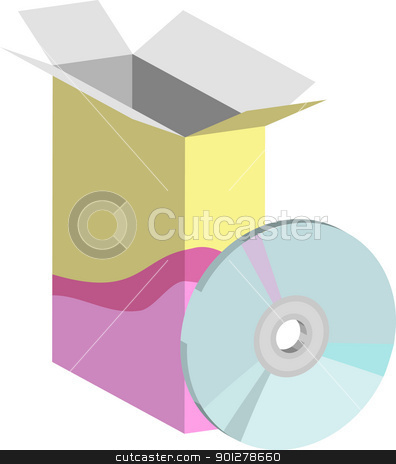 software Illustration stock vector clipart, Some computer software  by Christos Georghiou
