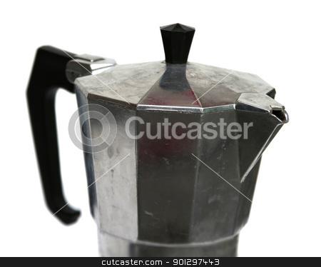 Mocha Espresso Maker stock photo, stove top mocca espresso maker by Tyler Olson