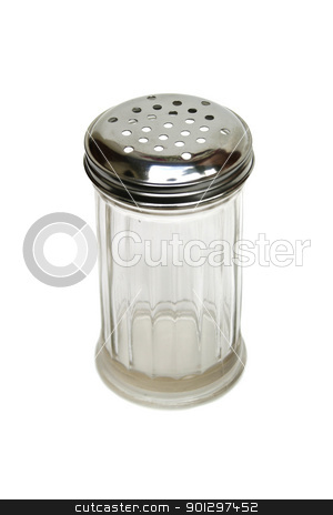 Retro Sugar Dispenser stock photo, A retro glass sugar dispenser by Tyler Olson