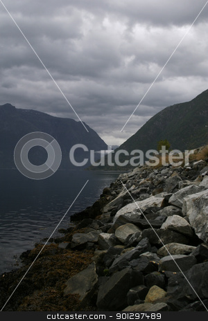 Fjord stock photo, A fjord in western Norway by Tyler Olson