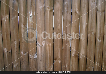 Wood Fence Texture stock photo, Wooden fence texture image. by Tyler Olson