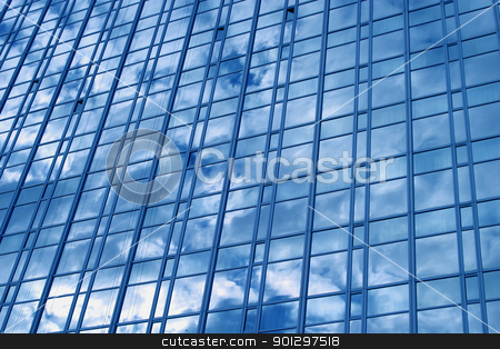 Window Texture stock photo, window texture with cloud reflection by Tyler Olson