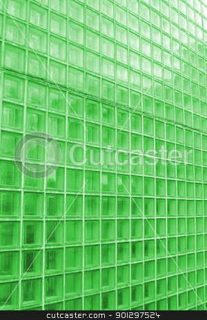 Green Cube Glass Texture stock photo, green cube glass texture image. by Tyler Olson