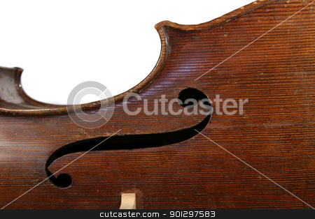 Cello Abstract stock photo, A detail image of a cello by Tyler Olson