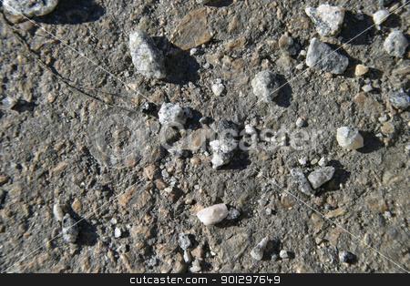 Gravel Detail stock photo, Gravel Texture by Tyler Olson