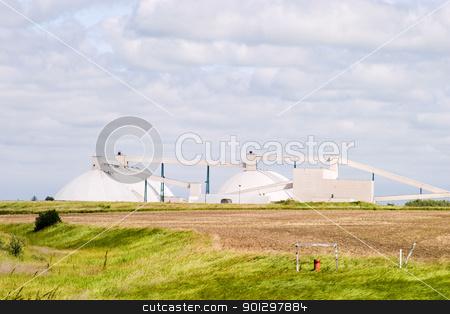 Potash Mine stock photo, Potash Mine in Saskatchewan by Tyler Olson