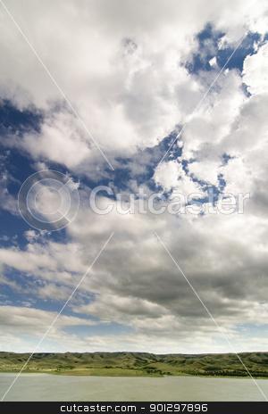Diefenbaker Lake stock photo, Saskatchewan Landing, Diefenbaker Lake. by Tyler Olson