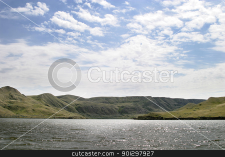 River Hills stock photo, South Saskatchewan river hills, near Beaver Flat, Saskatchewan, at the mouth of the Swift Current Creek by Tyler Olson