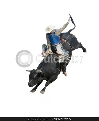Bull Riding stock photo, Bull Riding at the Herbert Rodeo, Saskatchewan, Canada by Tyler Olson