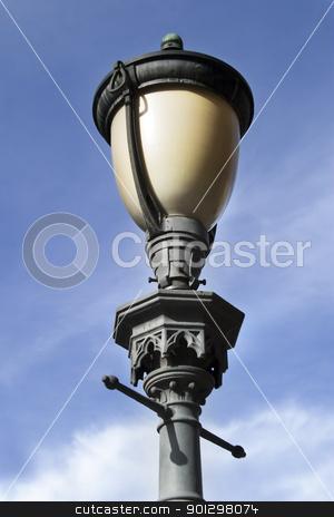 Street Lamp stock photo, Street lamp in Oslo, Norway by Tyler Olson
