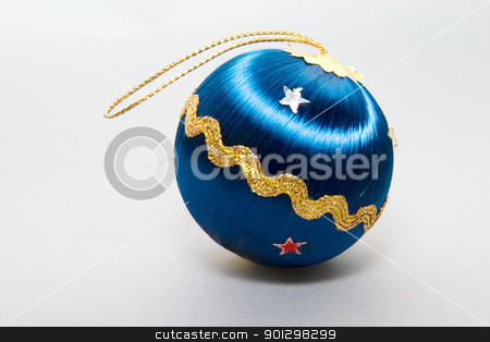 Christmas Tree Ball stock photo, Vintage Christmas Tree Ball Decoration by Tyler Olson