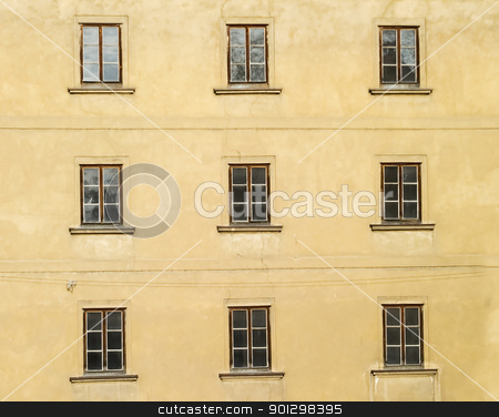 Prague Abstract stock photo, Abstract building detail in Prague, Czech Republic by Tyler Olson