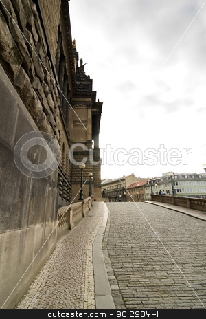 National Museum, Prague stock photo, The National Museum, Muzeum, in Prague, Czech Republic. by Tyler Olson