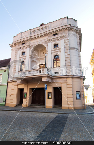 Tabor Architecture stock photo, Architecture detail of a building in Tabor, Czech Republic by Tyler Olson