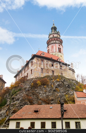Czech Castle stock photo, A castle in the czech republic by Tyler Olson
