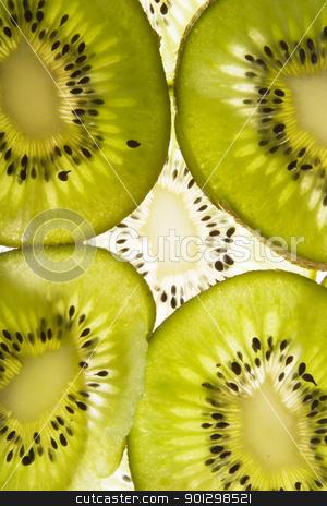 Kiwi Slice Texture stock photo, Kiwi background texture image by Tyler Olson