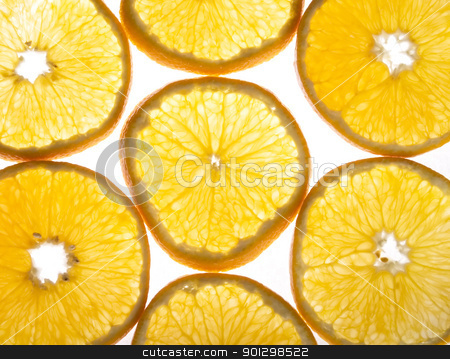Orange Texture stock photo, Orange background texture image over white by Tyler Olson