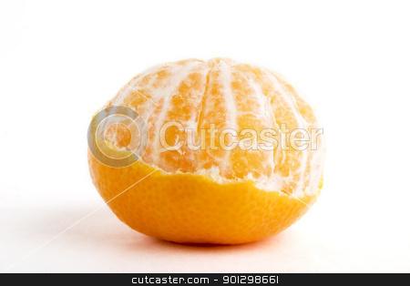 Partly Peeled Orange stock photo, A partly peeled orange by Tyler Olson