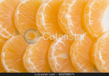 Orange Background stock photo, Christmas Orange Slice Background by Tyler Olson