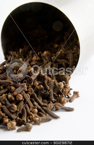 Cloves stock photo, Bulk Cloves (Syzygium aromaticum) by Tyler Olson