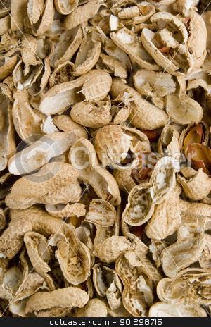 Peanut Shell Background stock photo, Peanut shell background texture by Tyler Olson